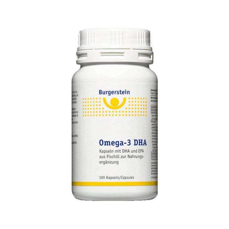 Burgerstein Omega 3 Dha 100 Caps Dose