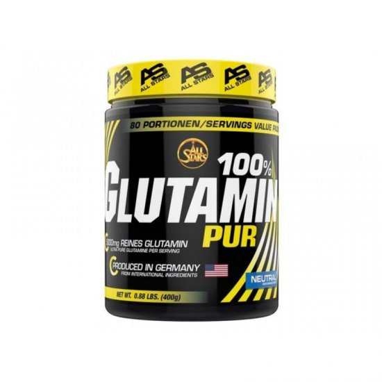 All Stars Glutamin Drink 400 gr. Dose