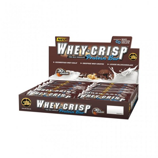 All Stars Whey Crisp Pro 24 x 50gr. Display White Chocolate Cookie Crunch