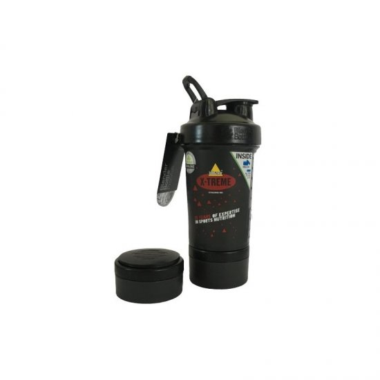 Inkospor X-Treme Blender Bottle 820 ml Schwarz/Rot