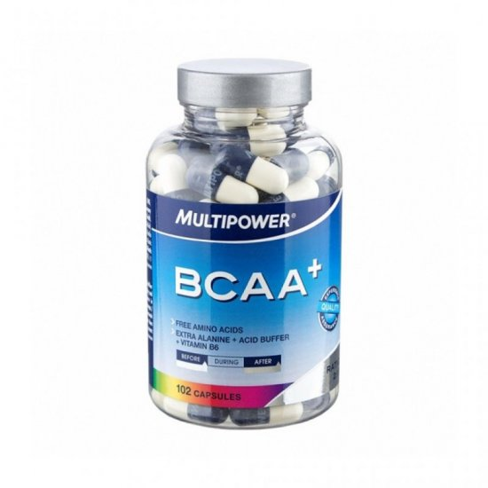 Multipower BCAA+ 102 x 919 mg. Caps Dose Neutral