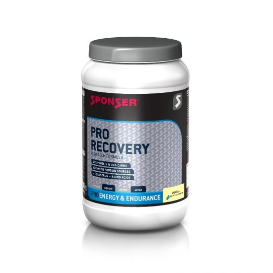Sponser Pro Recovery 50/36  900gr. Dose Vanilla