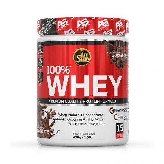All Stars 100% Whey Protein 450gr. Dose