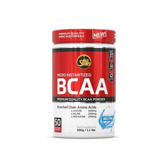 All Stars BCAA Powder 500gr. Dose