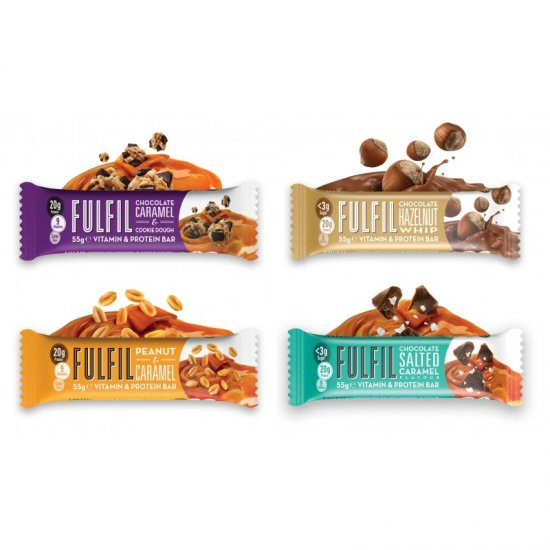 Fulfil Vitamin & Protein Bar, 15 x 55g Display
