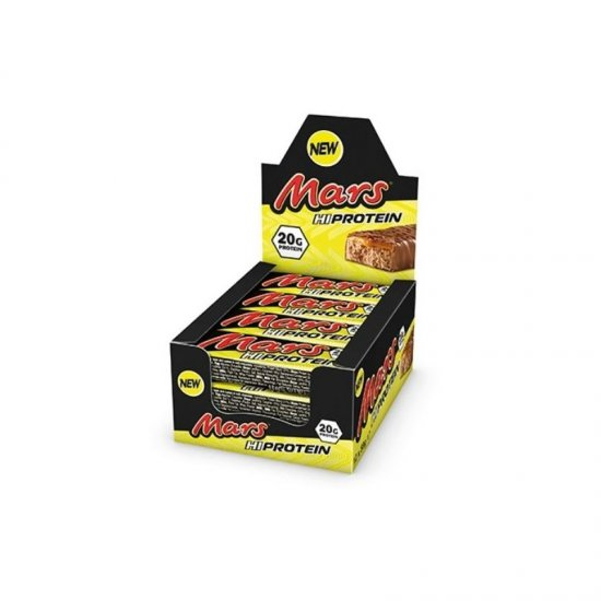 Mars Hi Protein Riegel 12 x 59 gr. Display